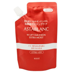 コーセー KOSE アスタブラン Wリフト エマルジョン とてもしっとり (つめかえ用) 90ml 化粧品 コスメ ASTABLANC W LIFT EMULSION EXTRA MOIST|beautyfactory