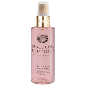GRACE COLE BOUTIQUE グレースコールブティック ボディミスト イングリッシュローズ&シャンパン 100ml 化粧品 コスメ|beautyfactory