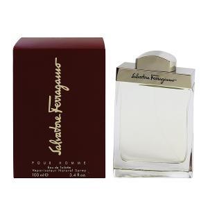 (最大500円OFFクーポン 9/30 23:00まで)SALVATORE FERRAGAMO フェラガモ プールオム EDT・SP 100ml 香水 フレグランス FERRAGAMO POUR HOMME|beautyfactory