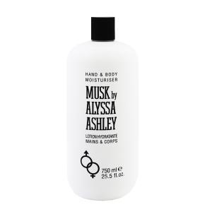 ALYSSA ASHLEY アリサアシュレイ ムスク ボディローション 750ml ALYSSA ASHLEY MUSK HAND & BODY MOISTURISER|beautyfactory
