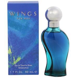 ジョルジオ ビバリーヒルズ GIORGIO BEVERLY HILLS ウィングス フォーメン EDT・SP 50ml 香水 フレグランス WINGS FOR MEN|beautyfactory