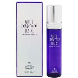 エリザベステイラー ELIZABETH TAYLOR ホワイト ダイヤモンド リュストル EDT・SP 100ml 香水 フレグランス WHITE DIAMONDS LUSTRE beautyfactory