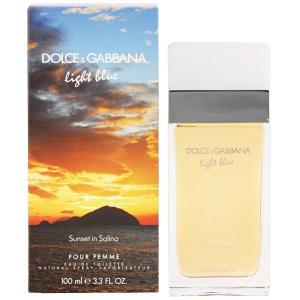 ドルチェ&ガッバーナ DOLCE&GABBANA ライトブルー サンセット イン サリーナ EDT・SP 100ml 香水 フレグランス LIGHT BLUE SUNSET IN SALINA|beautyfactory