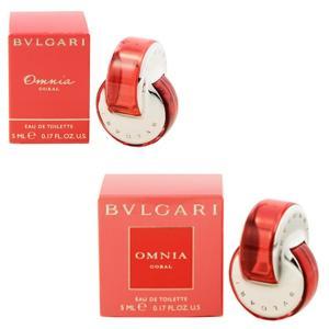 (最大500円OFFクーポン 1/4 23:00まで)ブルガリ BVLGARI オムニア コーラル ミニ香水 EDT・BT 5ml 香水 フレグランス OMNIA CORAL|beautyfactory