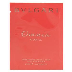 (最大500円OFFクーポン 1/4 23:00まで)ブルガリ BVLGARI オムニア コーラル ジェントル ボディスクラブ 10ml OMNIA CORAL GENTLE BODY SCRUB|beautyfactory