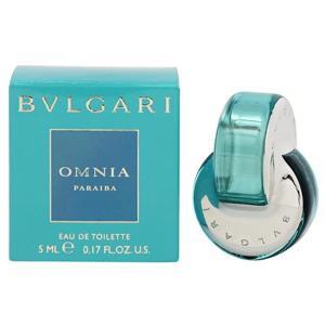 (最大500円OFFクーポン 1/4 23:00まで)ブルガリ BVLGARI オムニア パライバ ミニ香水 EDT・SP 5ml 香水 フレグランス OMNIA PARAIBA|beautyfactory