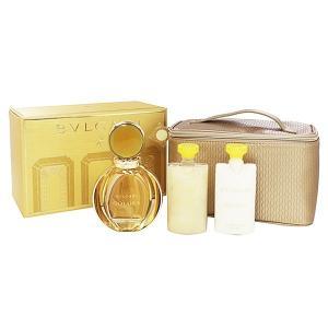 ブルガリ BVLGARI ゴルデア ポーチセット 90ml/75ml/75ml 香水 フレグランス GOLDEA/BODY LOTION/SHOWER GEL|beautyfactory