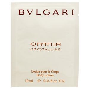 ブルガリ BVLGARI オムニア クリスタリン ボディミルク 10ml OMNIA CRYSTALLINE BODY LOTION|beautyfactory