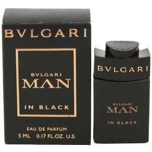BVLGARI ブルガリ マン インブラック ミニ香水 EDP・BT 5ml 香水 フレグランス BVLGARI MAN IN BLACK|beautyfactory