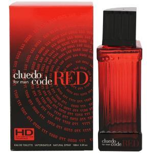 CLUEDO クルード コード レッド フォーメン EDT・SP 100ml 香水 フレグランス CLUEDO CODE RED FOR MEN|beautyfactory