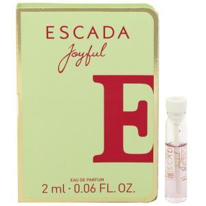 エスカーダ ESCADA ジョイフル (チューブサンプル) EDP・BT 2ml 香水 フレグランス JOYFUL EAU DE PERFUME|beautyfactory