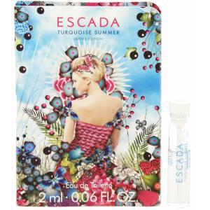 エスカーダ ESCADA ターコイズサマー (チューブサンプル) EDT・BT 2ml 香水 フレグランス TURQUOISE SUMMER|beautyfactory
