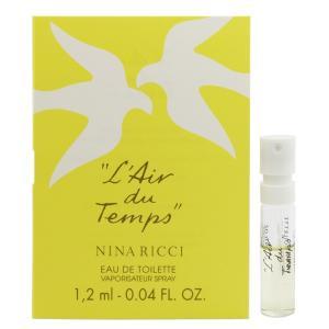 ニナリッチ NINA RICCI レールデュタン (チューブサンプル) EDT・SP 1.2ml 香水 フレグランス L AIR DU TEMPS|beautyfactory