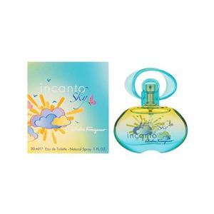 フェラガモ SALVATORE FERRAGAMO インカント スカイ (箱なし) EDT・SP 30ml 香水 フレグランス INCANTO SKY|beautyfactory