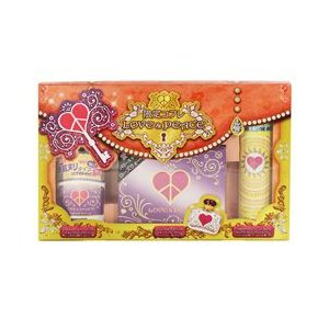 LOVE&PEACE ラブ&ピース 夏季限定コフレセット (2013) 香水 フレグランス LOVE AND PEACE EDP / FRAGRANCE UV CUT / DEODORANT STICK|beautyfactory