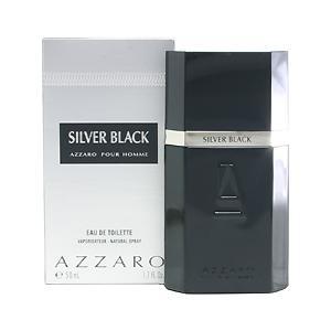 アザロ AZZARO シルバーブラック プールオム EDT・SP 50ml 香水 フレグランス SILVER BLACK POUR HOMME beautyfactory