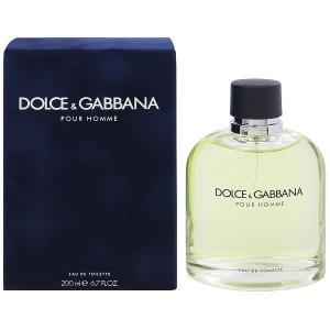 DOLCE&GABBANA ドルチェ&ガッバーナ プールオム EDT・SP 200ml 香水 フレグランス DOLCE&GABBANA POUR HOMME|beautyfactory