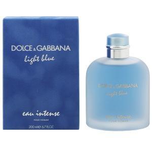 ドルチェ&ガッバーナ DOLCE&GABBANA ライトブルー オー インテンス プールオム EDP・SP 200ml 香水 フレグランス LIGHT BLUE EAU INTENSE POUR HOMME|beautyfactory