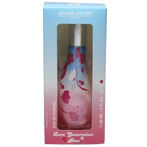 ジャンヌアルテス JEANNE ARTHES ラブ ジェネレーション ブルー EDP・SP 60ml 香水 フレグランス LOVE GENERATION BLUE beautyfactory