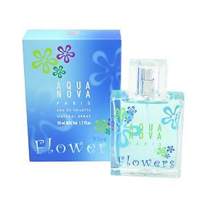 ヴィア パリス VIA PARIS アクアノヴァ フラワーズ ブルー EDT・SP 50ml 香水 フレグランス AQUA NOVA FLOWERS BLUE|beautyfactory