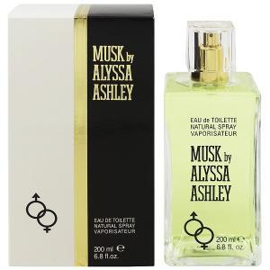 ALYSSA ASHLEY アリサアシュレイ ムスク EDT・SP 200ml 香水 フレグランス MUSK BY ALYSSA ASHLEY|beautyfactory