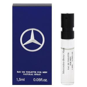 MERCEDES BENZ メルセデス ベンツ マン (チューブサンプル) EDT・SP 1.5ml 香水 フレグランス MERCEDES BENZ MAN|beautyfactory