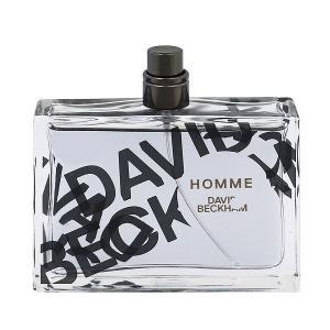 DAVID BECKHAM デヴィッド ベッカム オム (テスター) EDT・SP 75ml 香水 フレグランス DAVID BECKHAM HOMME TESTER beautyfactory