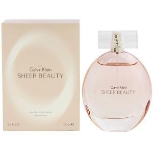 カルバンクライン CALVIN KLEIN シアー ビューティ EDT・SP 100ml 香水 フレグランス SHEER BEAUTY|beautyfactory