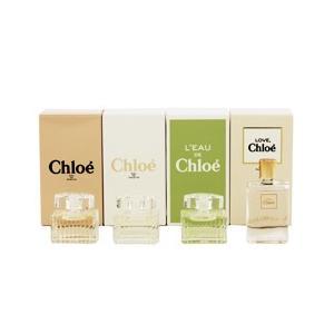 (最大500円OFFクーポン 2/28 23:00まで)CHLOE クロエ ミニチュアコレクション (4Pセット) 5ml×4 香水 フレグランス CHLOE LES PARFUMS|beautyfactory