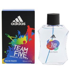 アディダス ADIDAS チーム ファイブ EDT・SP 100ml 香水 フレグランス TEAM FIVE SPECIAL EDITION|beautyfactory