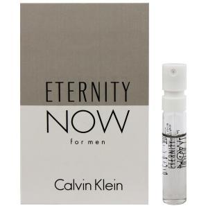 カルバンクライン CALVIN KLEIN エタニティ ナウ フォーメン (チューブサンプル) EDT・SP 1.2ml 香水 フレグランス ETERNITY NOW FOR MEN|beautyfactory