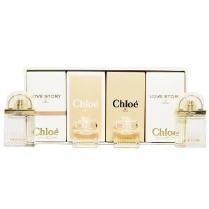 (最大500円OFFクーポン 11/30 23:00まで)CHLOE クロエ ミニチュアコレクション (4Pセット) 5ml×2/7.5ml×2 香水 フレグランス CHLOE LES PARFUMS|beautyfactory