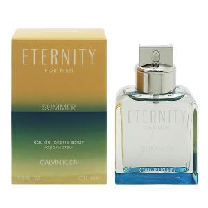 カルバンクライン  エタニティ フォーメン サマー (2019) EDT・SP 100ml 香水 フレグランス ETERNITY FOR MEN SUMMER|beautyfactory