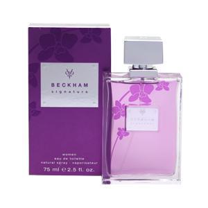 デヴィッド ベッカム DAVID BECKHAM シグネチャー ウーマン EDT・SP 75ml 香水 フレグランス SIGNATURE WOMEN|beautyfactory
