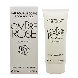 ジャン シャルル ブロッソ JEAN CHARLES BROSSEAU オンブルローズ オリジナル ボディローション 200ml OMBRE ROSE LORIGINAL BODY LOTION|beautyfactory