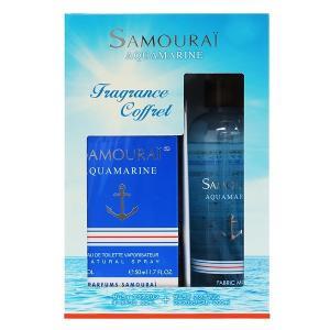 アランドロン ALAIN DELON サムライ アクアマリン コフレセット 16A 50ml/200ml 香水 フレグランス|beautyfactory