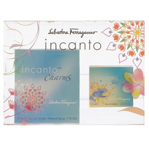 (最大500円OFFクーポン 1/4 23:00まで)フェラガモ SALVATORE FERRAGAMO インカント チャーム ミニセット 17SS 30ml/5ml 香水 フレグランス INCANTO CHARMS beautyfactory