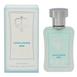 LOVE&PEACE ラブ&ピース メン プレイライフ EDP・SP 50ml 香水 フレグランス LOVE&PEACE MEN PLAYLIFE|beautyfactory