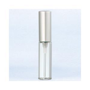 ヤマダアトマイザー YAMADA ATOMIZER グラスアトマイザー シンプル 5204 クリアボトル/キャップマットシルバー 4ml beautyfactory