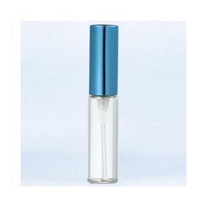 ヤマダアトマイザー YAMADA ATOMIZER グラスアトマイザー プラスチックポンプ 無地 5210 アルミキャップ パープル 4ml|beautyfactory