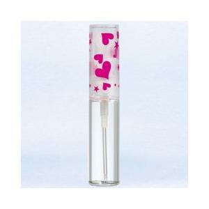 ヤマダアトマイザー YAMADA ATOMIZER グラスアトマイザー プラスチックポンプ 柄 50111 ハートキャップ ピンク 4.7ml|beautyfactory