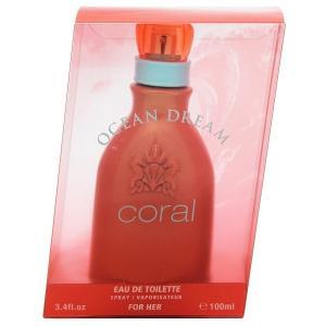 ジョルジオ ビバリーヒルズ GIORGIO BEVERLY HILLS オーシャン ドリーム コーラル フォーハー EDT・SP 100ml 香水 フレグランス OCEAN DREAM CORAL FOR HER|beautyfactory