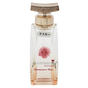 アランドロン ALAIN DELON サムライ ウーマン シャンパンローズ (テスター) EDP・SP 40ml 香水 フレグランス SAMOURAI WOMAN CHAMPAGNE ROSE|beautyfactory