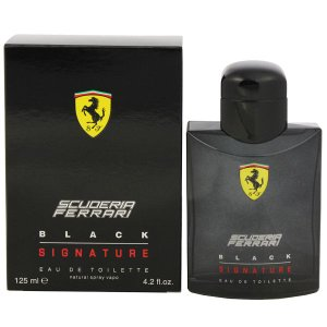 FERRARI フェラーリ ブラックシグニチャー EDT・SP 125ml 香水 フレグランス FERRARI BLACK SIGNATURE|beautyfactory