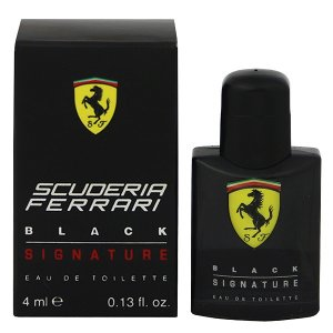 FERRARI フェラーリ ブラックシグニチャー ミニ香水 EDT・BT 4ml 香水 フレグランス FERRARI BLACK SIGNATURE beautyfactory