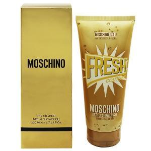 モスキーノ MOSCHINO フレッシュクチュール ゴールド バス&シャワージェル 200ml FRESH COUTURE GOLD BATH AND SHOWER GEL|beautyfactory