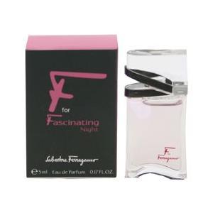 フェラガモ SALVATORE FERRAGAMO エフ フォー ファシネイティング ナイト ミニ香水 EDP・BT 5ml 香水 フレグランス F FOR FASCINATING NIGHT|beautyfactory