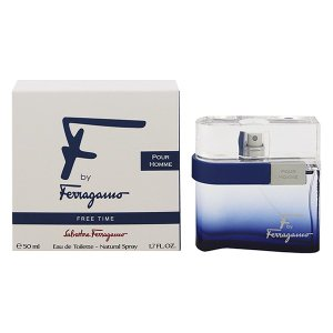 SALVATORE FERRAGAMO エフ バイ フェラガモ プールオム フリータイム EDT・SP 50ml 香水 フレグランス F BY FERRAGAMO POUR HOMME FREE TIME|beautyfactory