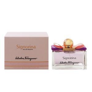 (最大500円OFFクーポン 3/31 23:00まで)フェラガモ SALVATORE FERRAGAMO シニョリーナ EDT・SP 100ml 香水 フレグランス SIGNORINA|beautyfactory