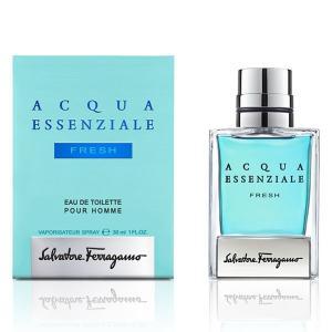 フェラガモ SALVATORE FERRAGAMO アクア エッセンツィアーレ フレッシュ EDT・SP 30ml 香水 フレグランス ACQUA ESSENZIALE FRESH POUR HOMME|beautyfactory
